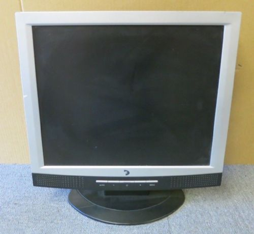 "Difusion P176 F176 17"" Silver & Black LCD TFT Flat Screen Monitor VGA"